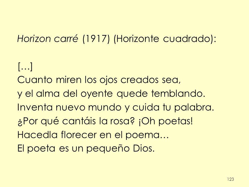 Horizon carré (1917) (Horizonte cuadrado): […]
